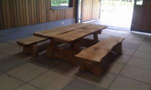 Solid Oak picnic table
