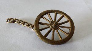 Wheelers badge belonging to Albert Lancelot Crowhurst