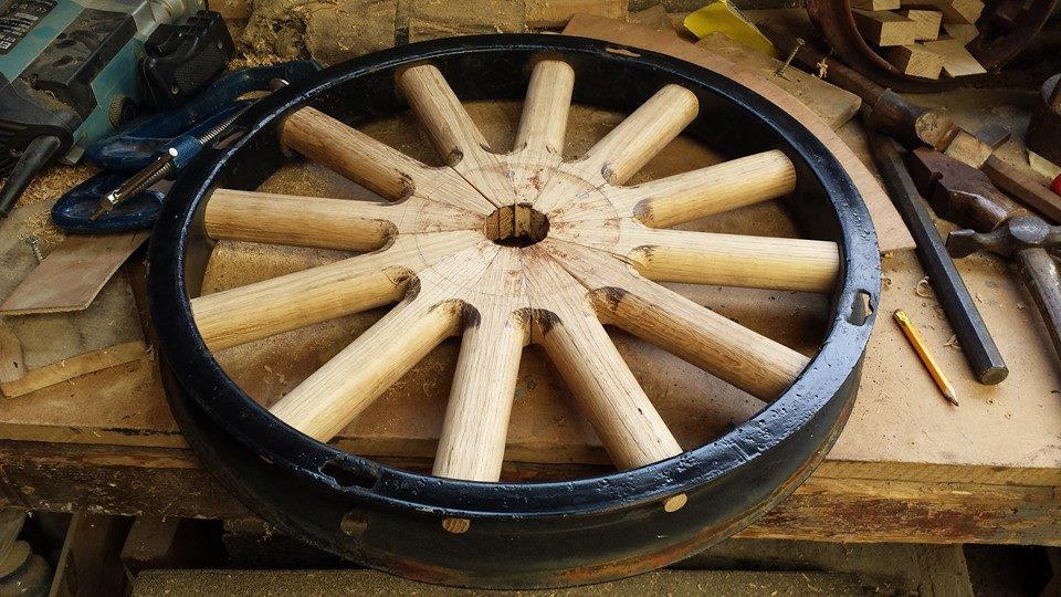 Model T wooden wheel