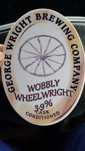 Famous for my love of real ale, they named one after me!