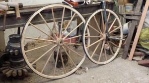 Velocipede wheels