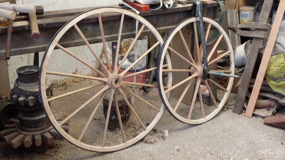 Velocipede wheels