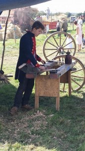 Re-enactment and traditional crafts