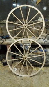Boneshaker wheels ready for hooping.