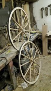 Boneshaker wheels